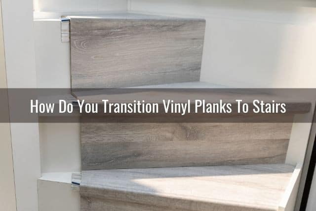 how to transition vinyl planks to