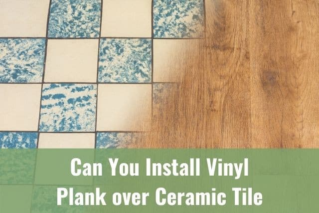 can you install vinyl plank over