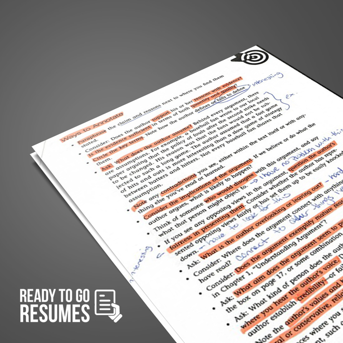 Resume Critique Resume Critique Ready To Go Resumes