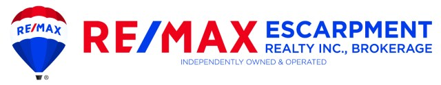 Remax Escarpment Side Logo Red and Blue w Balloon CMYK 300dpi 1024x199 - Exploring Hamilton's Central Mountain ~ One Neighbourhood at a Time ~ The Eastmount Neighbourhood
