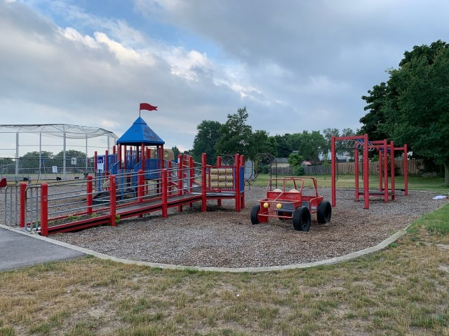 inch park playground 5 1 - Exploring Hamilton's Central Mountain ~ One Neighbourhood at a Time ~ The Inch Park Neighbourhood