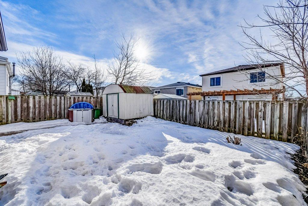 106 Garden rear yard 3 - Recently SOLD on the Central Hamilton Mountain