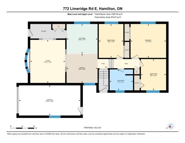 772 Limeridge E Hamilton floorplan1 - Recently SOLD - Central Hamilton Mountain