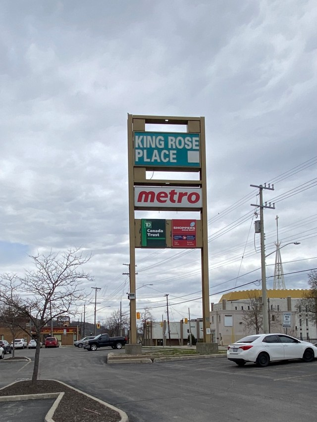 King Rose Place Rosedale Hamilton sign 768x1024 - Recently SOLD - East Hamilton