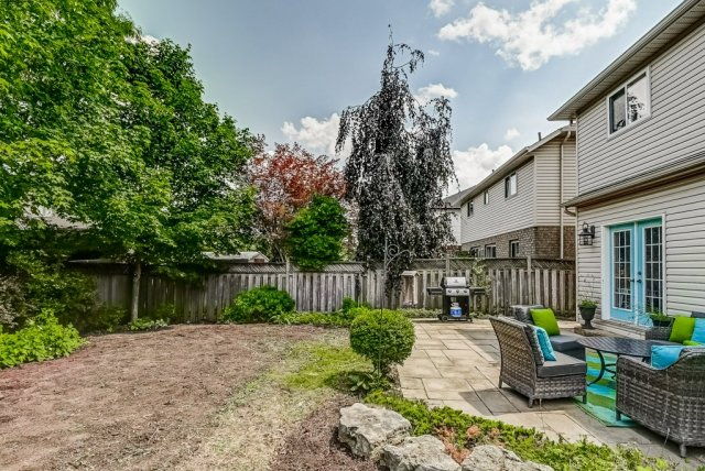 028 151 Joshua Ancaster back yard - Recently SOLD in Ancaster