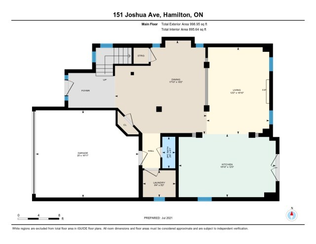 900 floor plan 151 Joshua Ancaster main - Recently SOLD in Ancaster