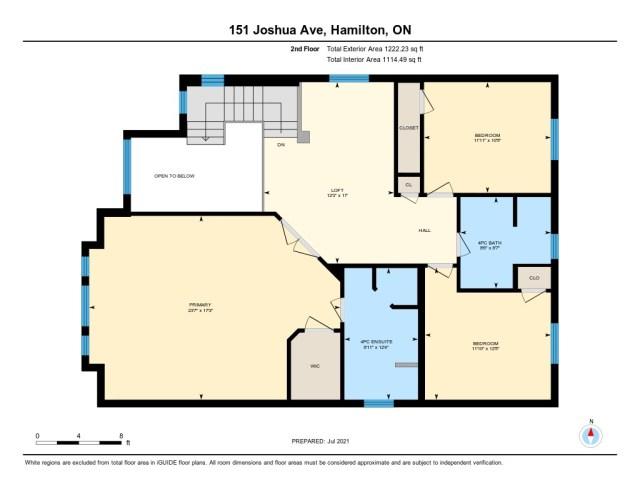 901 floor plan 151 Joshua Ancaster upper - Recently SOLD in Ancaster