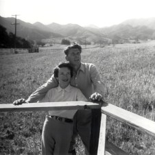 Ronald and Nancy Reagan Ranch 1958