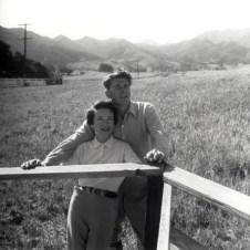 Ronald and Nancy Reagan Ranch 1958