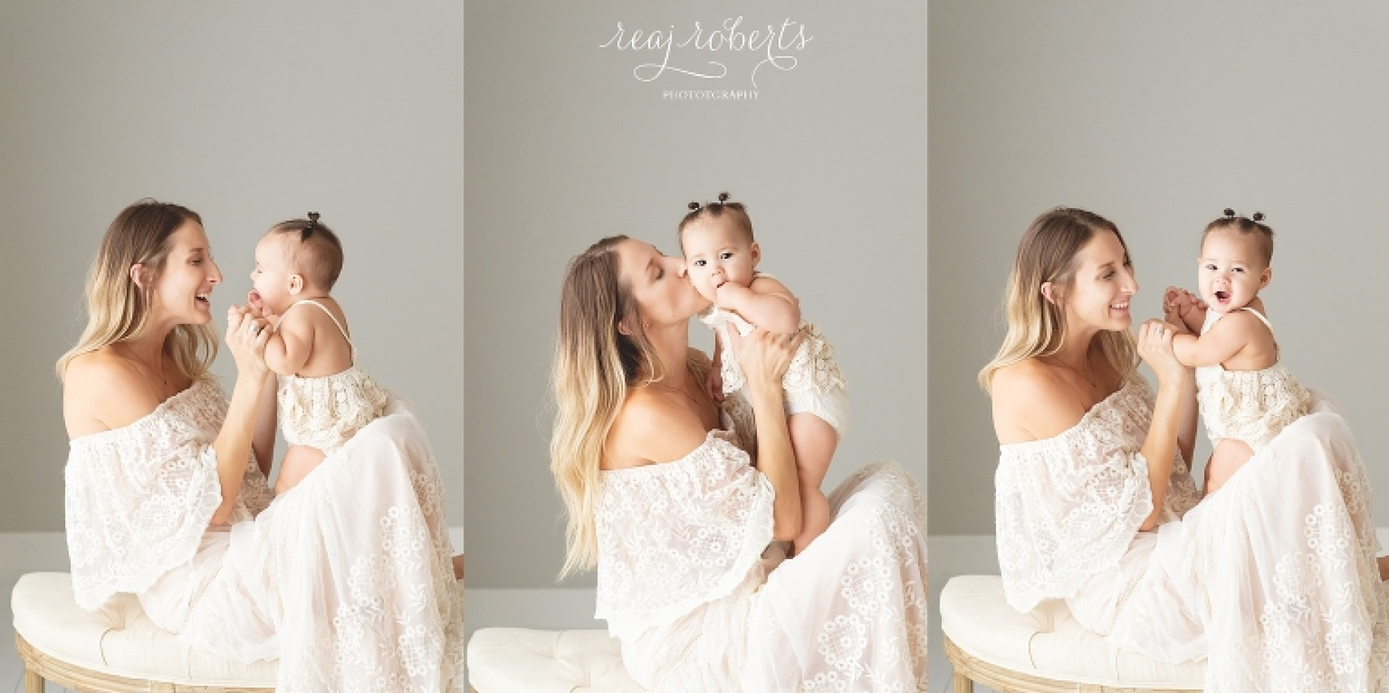 Phoenix Family Photographer | Motherhood photos with baby | Reaj Roberts Photography