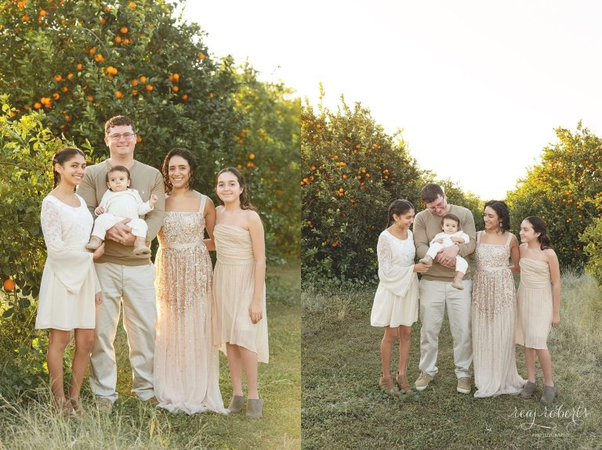 What to wear for your family photo session, neutrals, creams, tan, brown | Phoenix Family Photographer | Reaj Roberts Photography