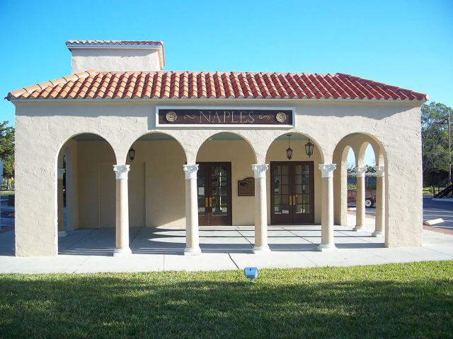 Naples Depot Museum on 5th Avenue South