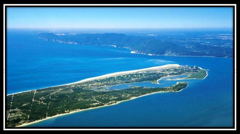 Aerial View Troia Peninsula