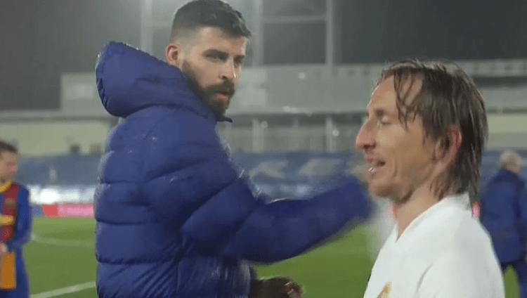 Réal-Barça:  Quand Modric avait décidé de chambrer Gérard Piqué (Vidéo)