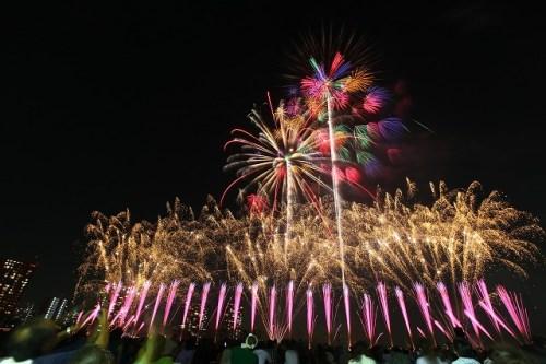 大田区平和都市宣言記念事業「花火の祭典」:mellowな日々