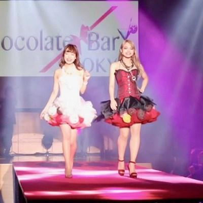 東京チョコレートランウェイ チョコレートファッションショー サロン・デュ・ショコラ チョコレートバー東京