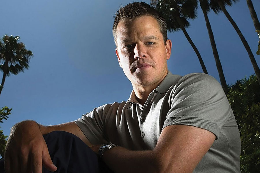 Matt Damon: Lead Actor For Water