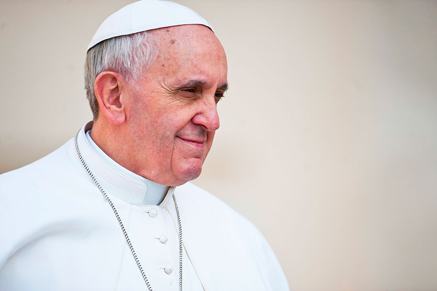 Pope Francis: The future demands of us critical and global decisions