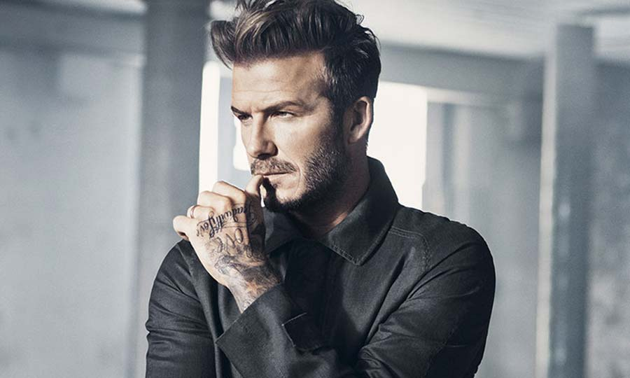 David Beckham Work Hard And Have A Passion For What You
