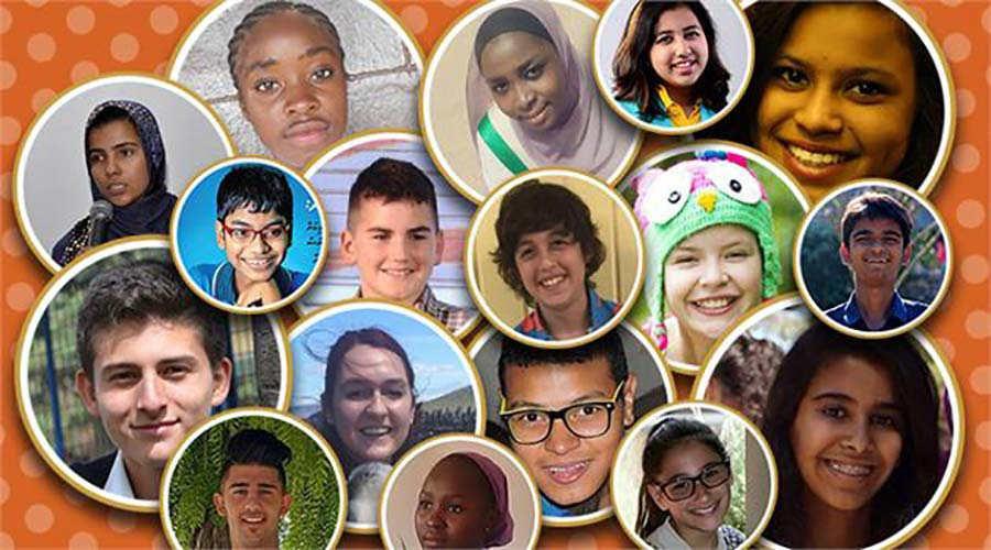 International Children's Peace Prize 2016 Finalists