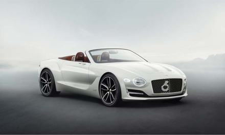 Bentley Debuts First Electric Luxury Car