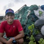 Surf Champions Lead Clean-up on Earth Day