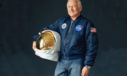 Buzz Aldrin Wants Us to Dream Like it's 1969