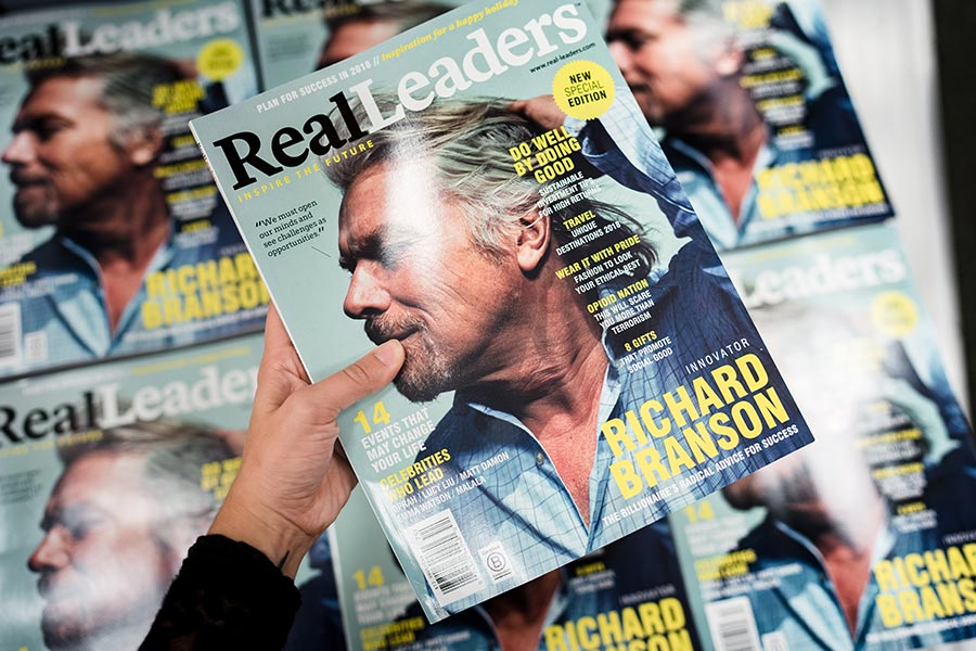Real Leaders Holds Global Newsstand Kick Off in New York