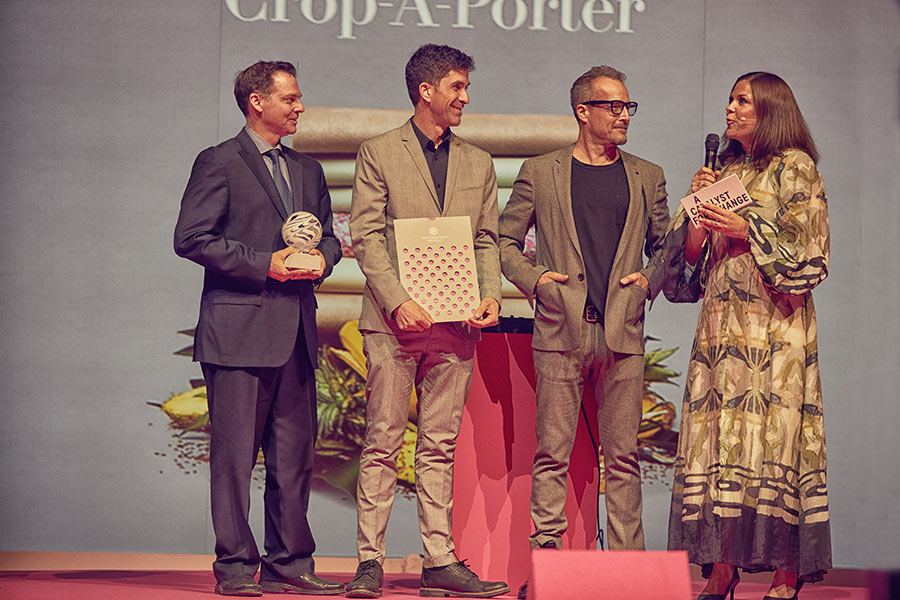 Crop-A-Porter Wins With Fashion From Crop Waste