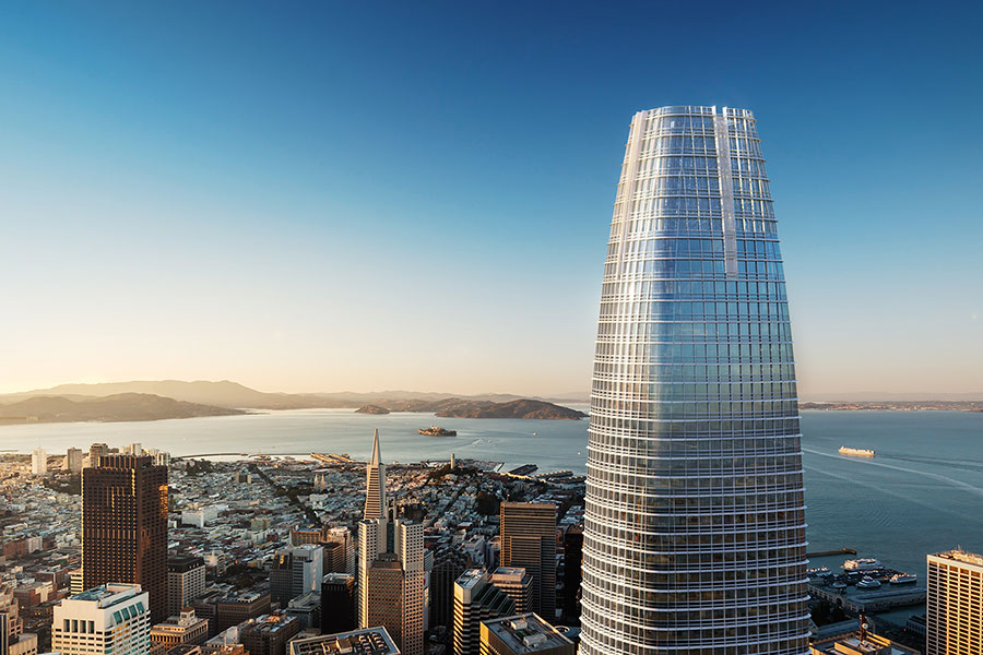 Salesforce Builds Largest High-rise Water Recycling System in U.S.