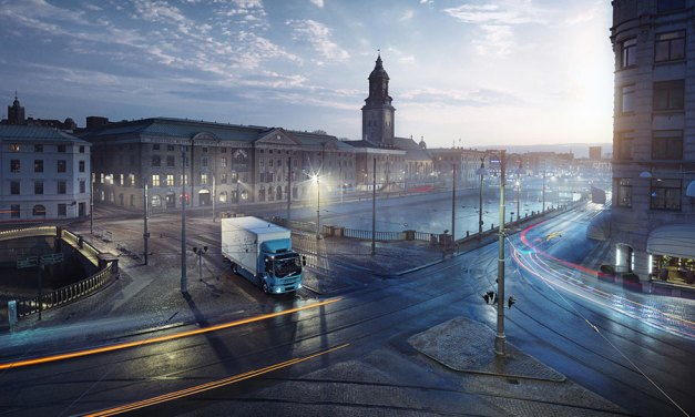 Volvo Premiers First All-Electric Truck