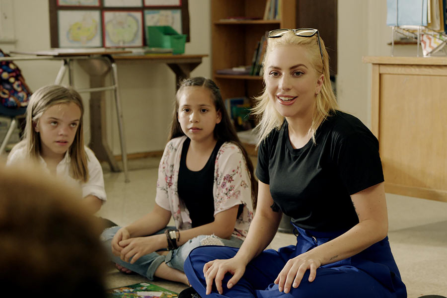 Lady Gaga Partners with Staples To Ease Burden on Teachers