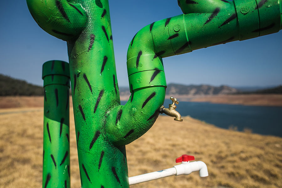 Art Tackles Drought