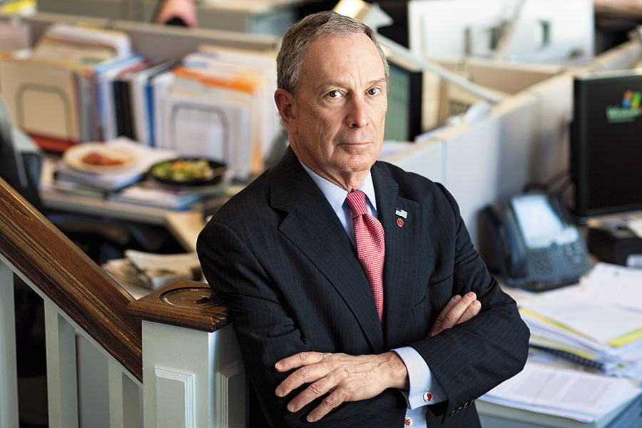 """Michael Bloomberg: Straight Talk From a """"C"""" Student Turned Billionaire"""