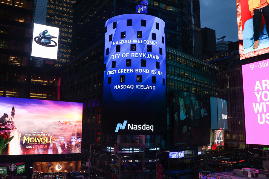 Nasdaq Iceland Welcomes First Green Bond Issuer