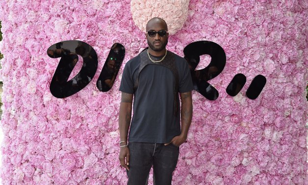Designer Virgil Abloh Teams up With Evian to go Beyond Plastic