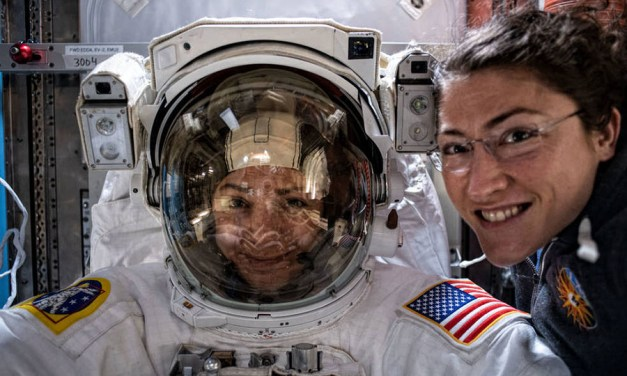 Women Can Spacewalk. But Can They Cross the Gender Line?
