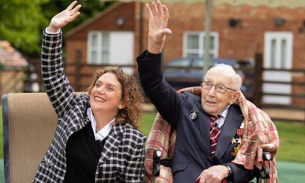 100-Year-Old Veteran Raises $37 Million For The Battle Against COVID-19