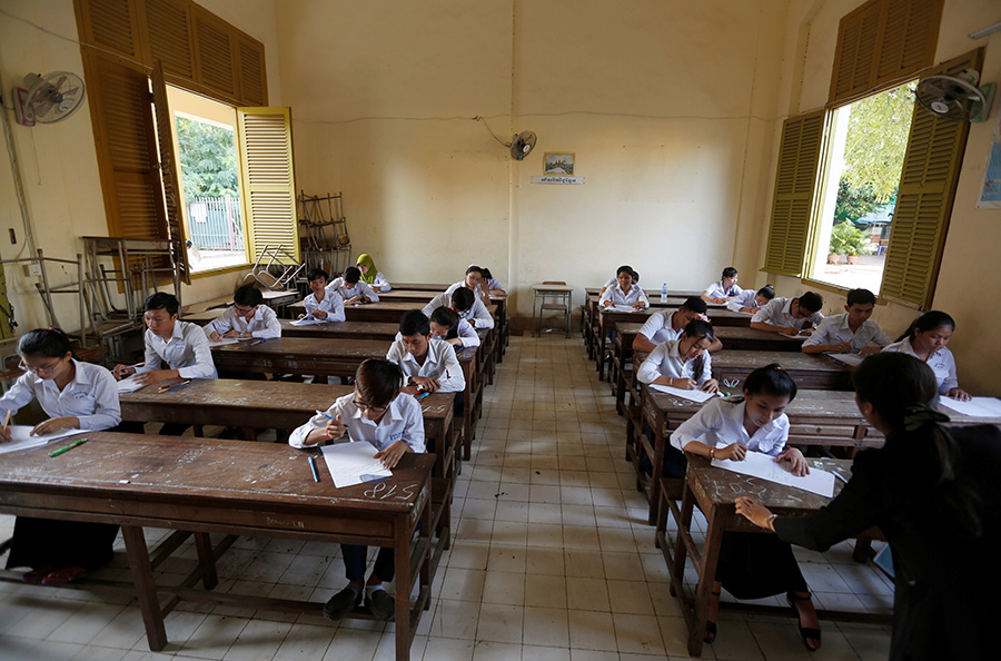 Cambodia Adds Human Trafficking Lessons to Schools