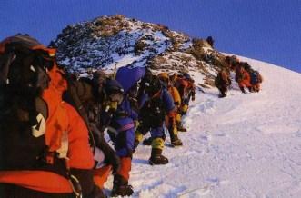 Эверест, Восхождение