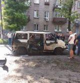В Каменском Взорвался Микроавтобус С Депутатом-5