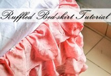 Bedskirt Tutorial