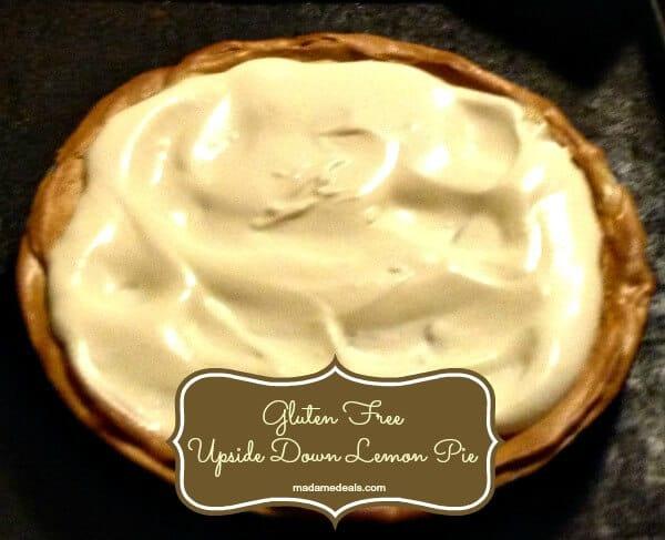 Gluten Free Upside Down Lemon Pie