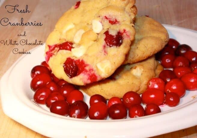 white chocolate cranberry cookie recipe
