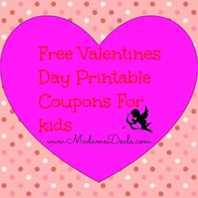 Printable Valentine Love Coupons