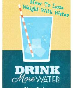 How to lose weight with water