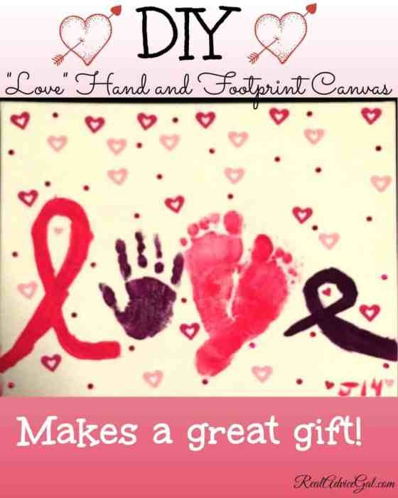 love canvas gift