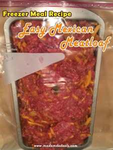 easy mexican meatloaf