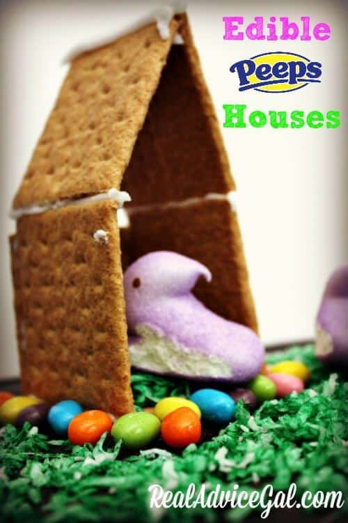 Edible Peeps Houses