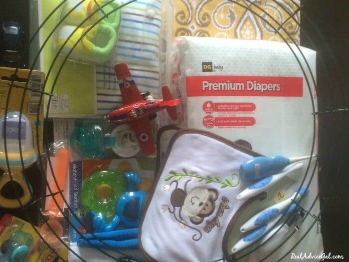 How to Make a Baby Diaper Wreath